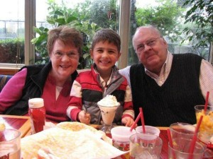 My Mom, Carson and My Dad 2008